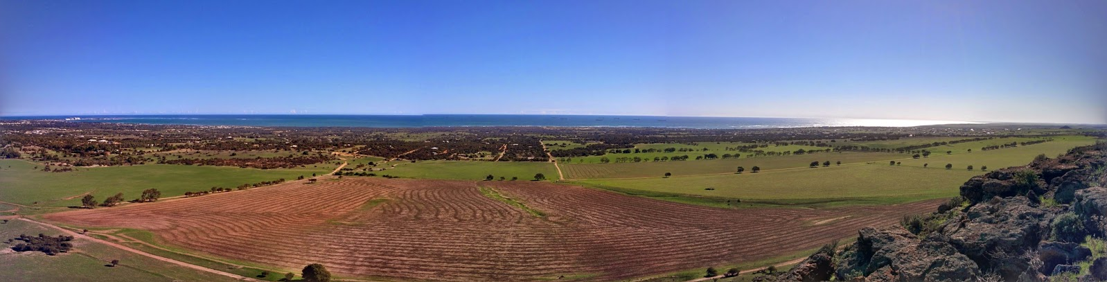 Panorama view Wavecrest Estate in Geraldton WA